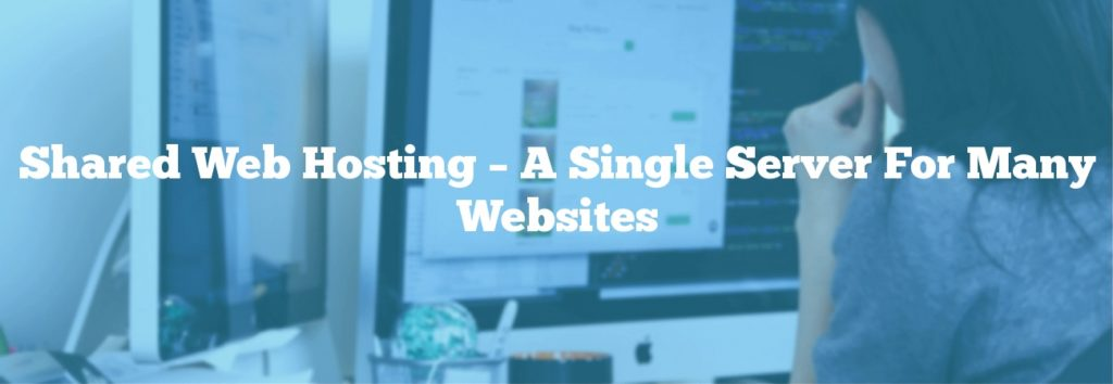 Shared Web Hosting – A Single Server For Many Websites
